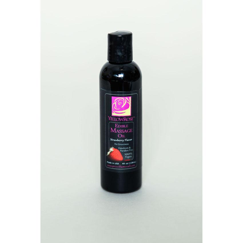 Edible Massage Oil -Strawberry
