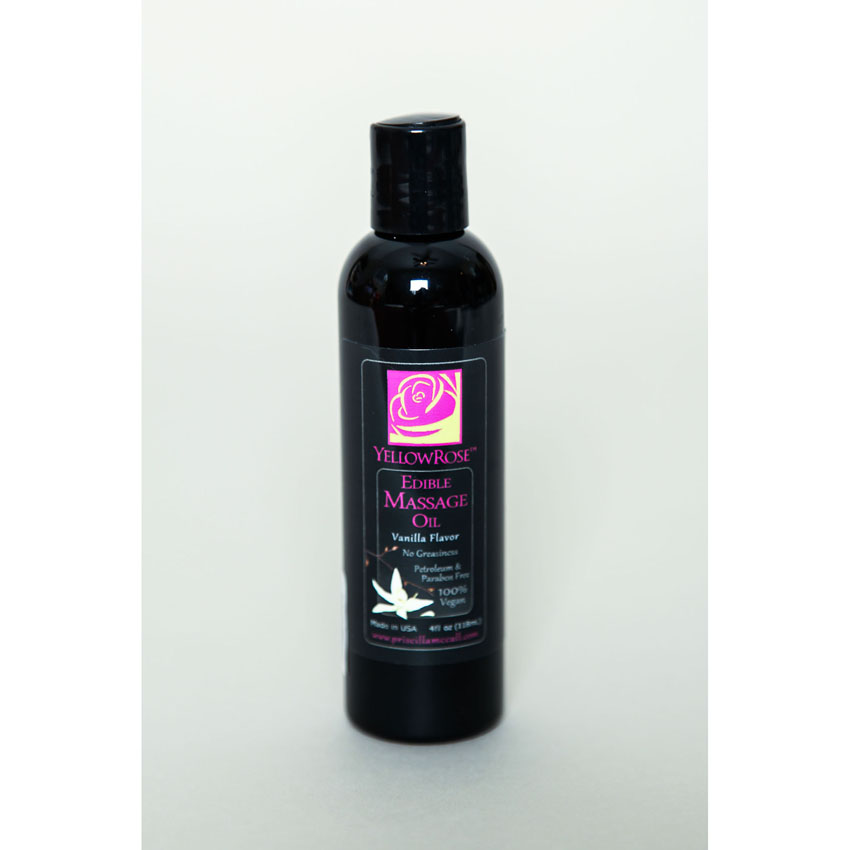 Edible Massage Oil-Vanilla