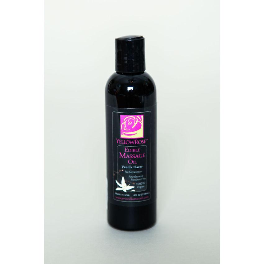 Edible Massage Oil-Vanilla