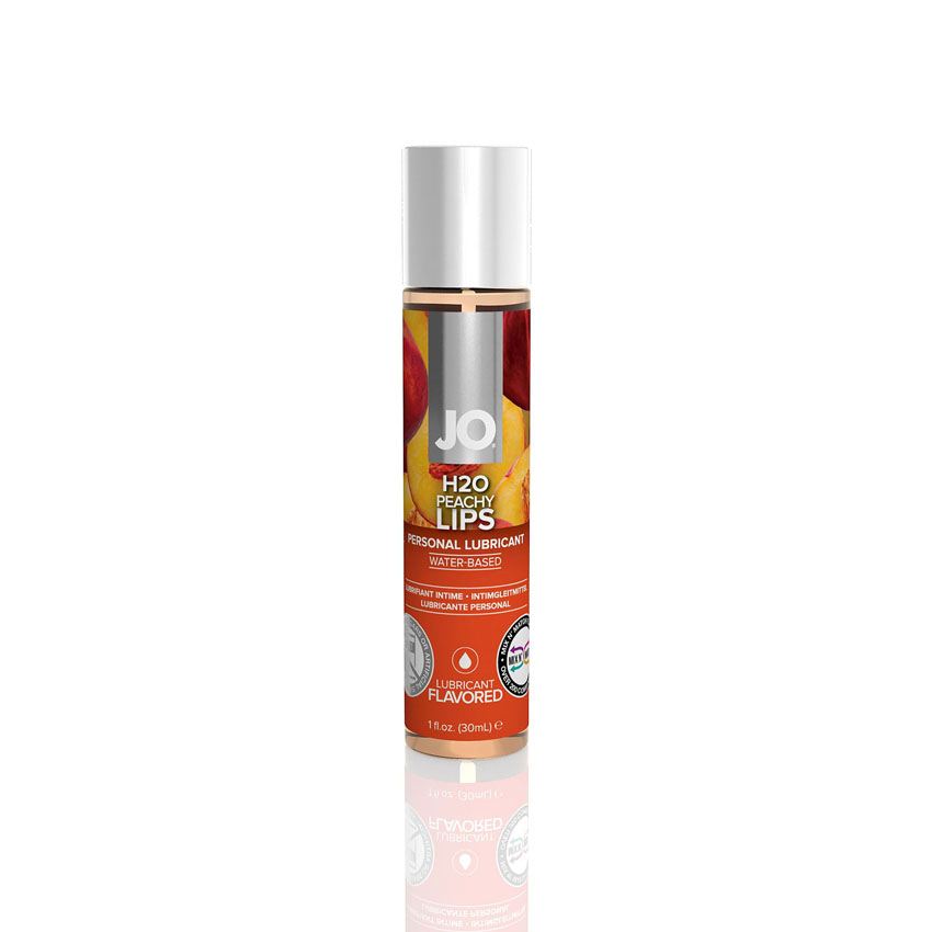 Jo H2O Flavored Lubricant-Peachy Lips