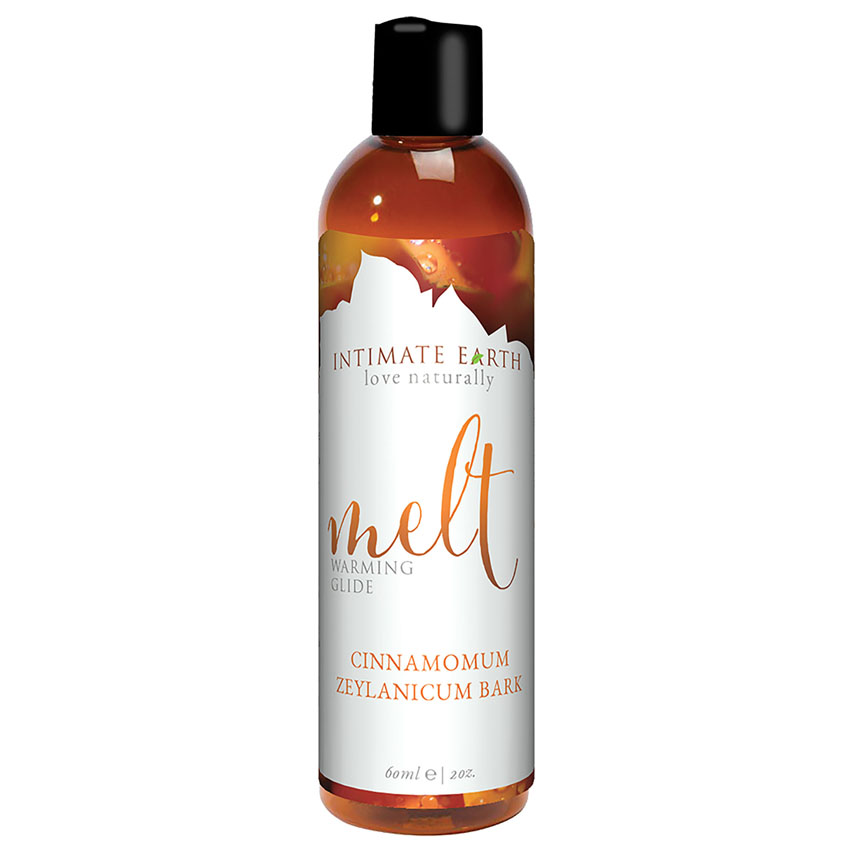 Intimate Earth Melt Warming Glide-Cinnamomum Bark