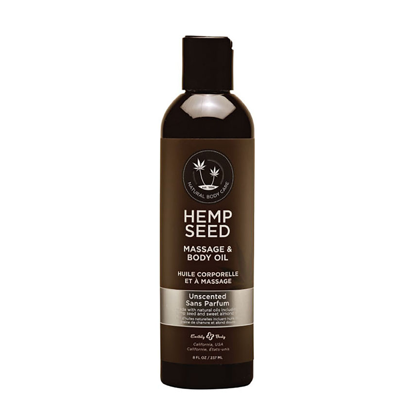 Earthly Body Unscented Hemp Seed Oil