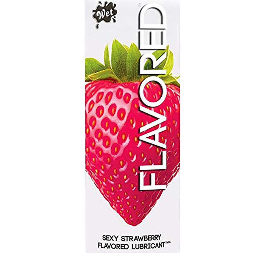 Wet Sexy Strawberry