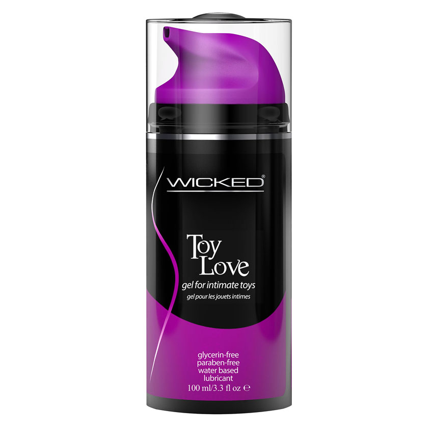 Wicked Toy Love Vibration-Enhancing Gel Lubricant For Intimate Toys