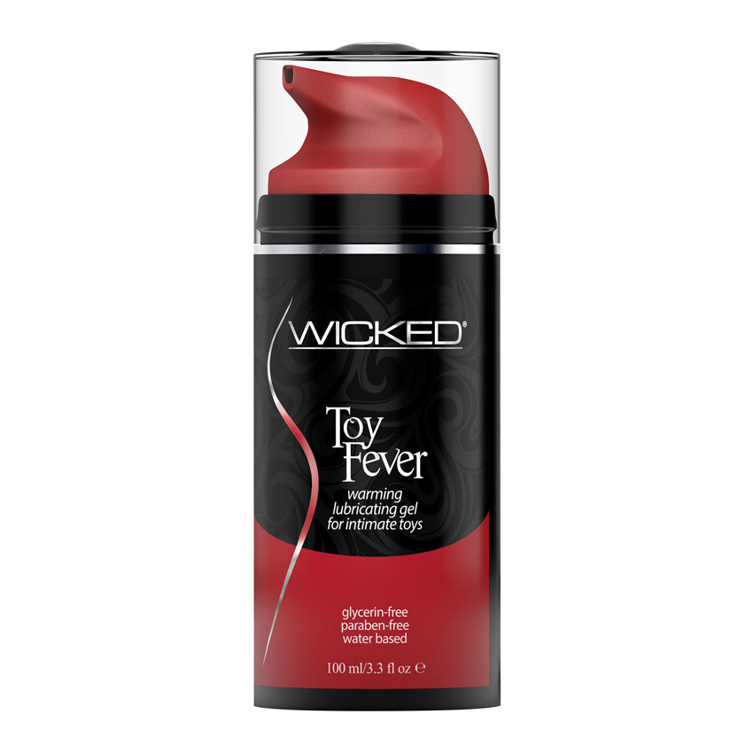 Wicked Toy Fever Warming & Vibration-Enhancing Lubricating Gel For Intimate Toys