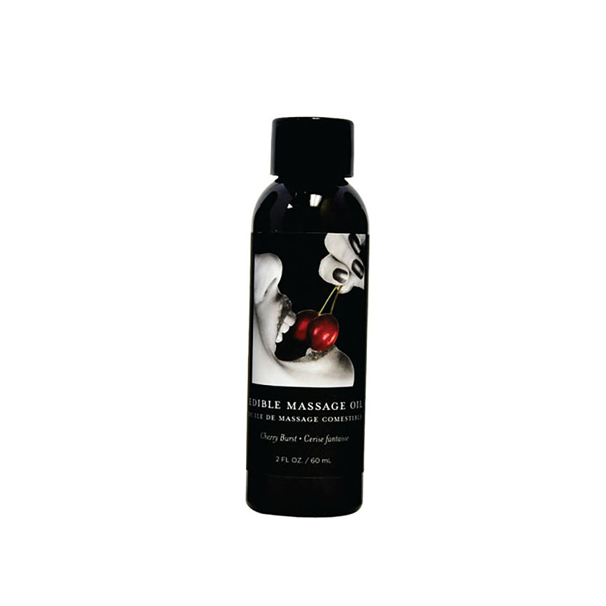 Edible Massage Oil (2oz)-Cherry