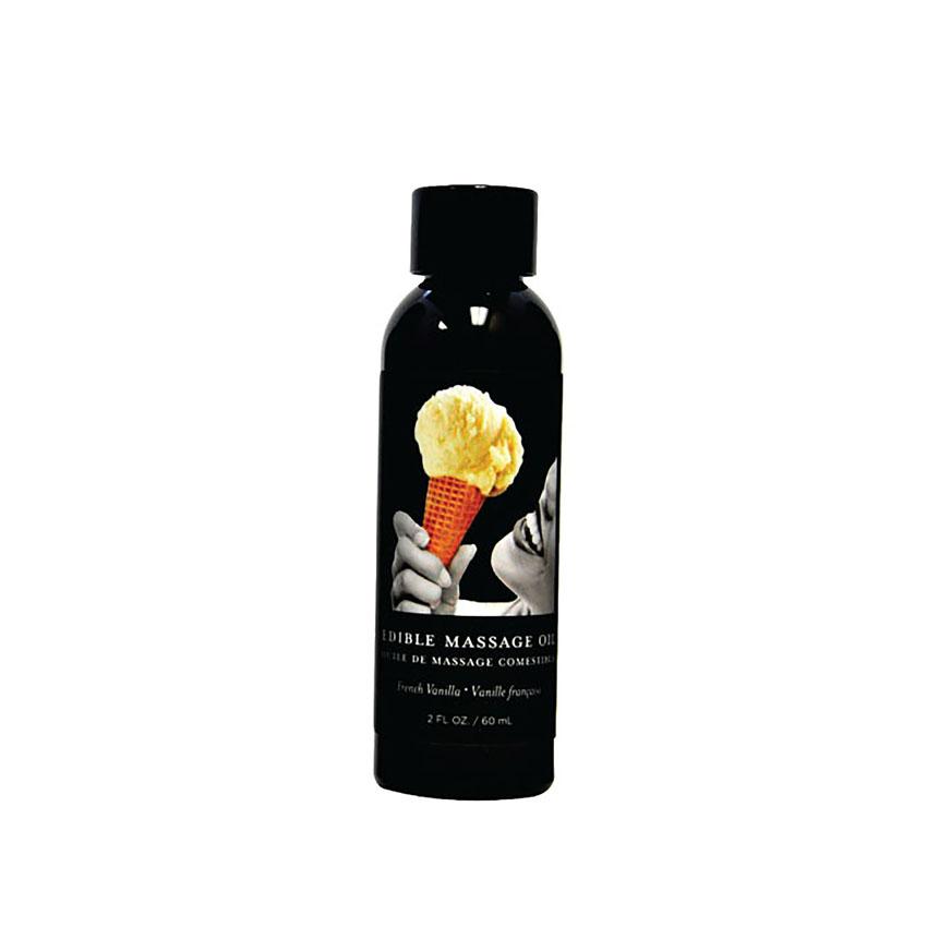 Edible Massage Oil (2oz)-Vanilla