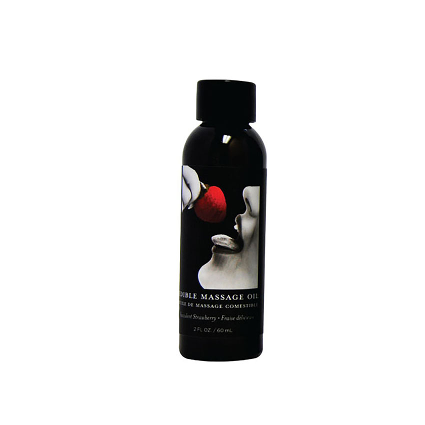 Edible Massage Oil (2oz)-Strawberry