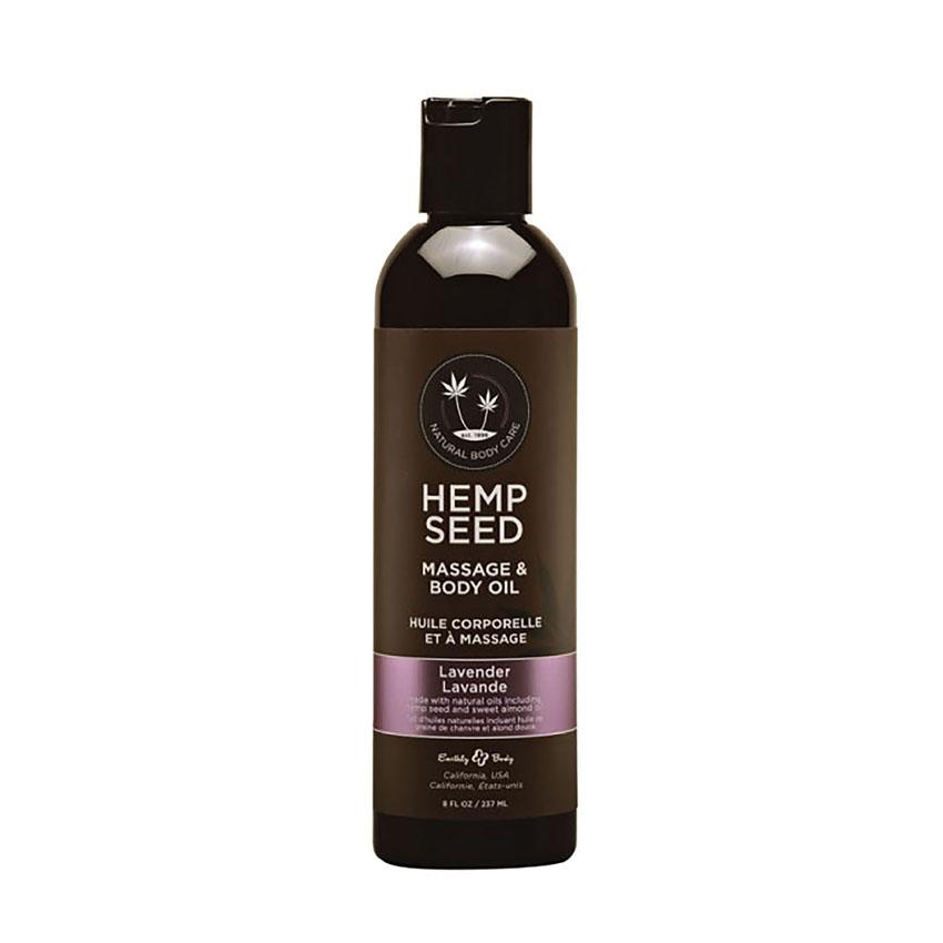 Hemp Seed Massage & Body Oil (2oz)-Lavender
