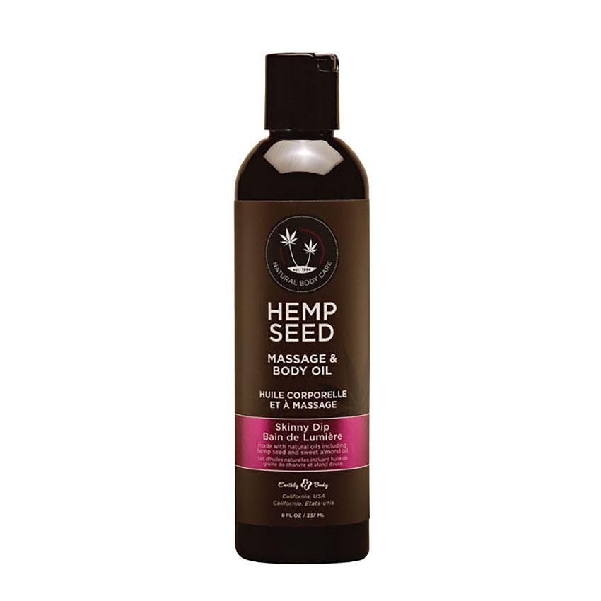 Hemp Seed Massage & Body Oil (2oz)-Skinny Dip