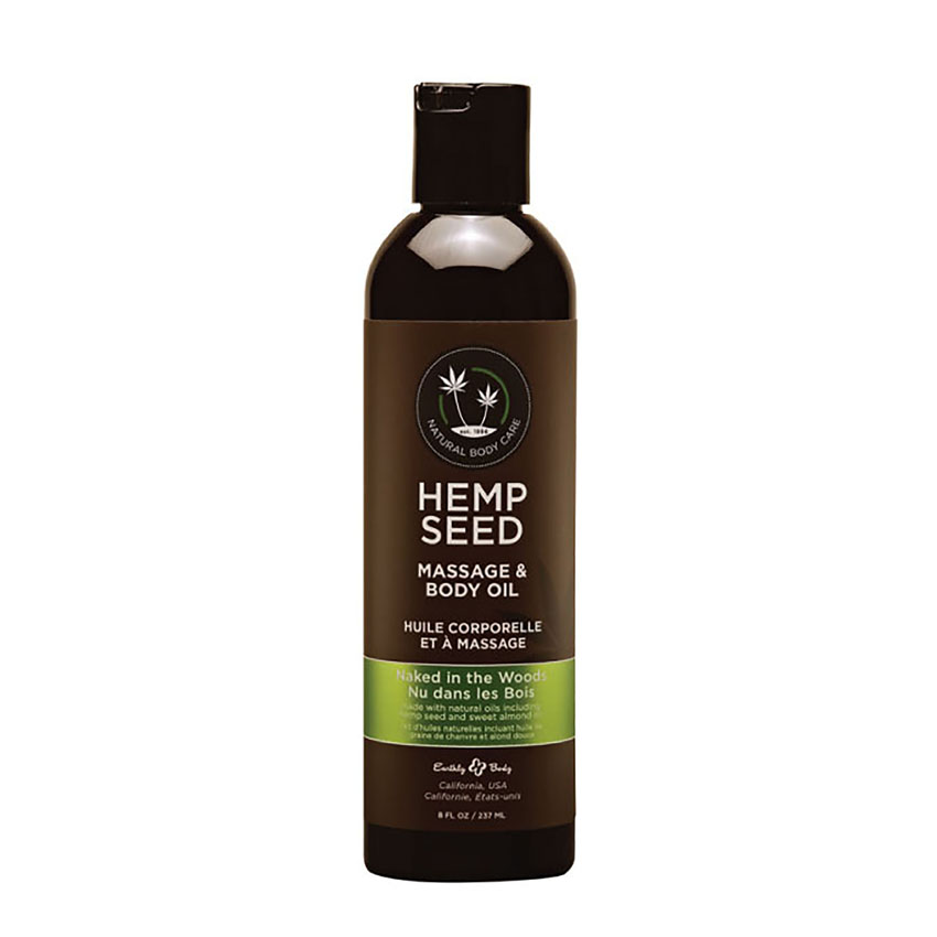 Hemp Seed Massage & Body Oil (2oz)-Naked in the Woods