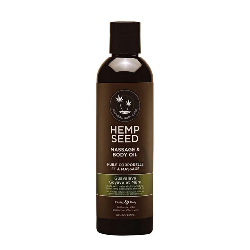 Hemp Seed Massage & Body Oil (2oz)-GuavaLava