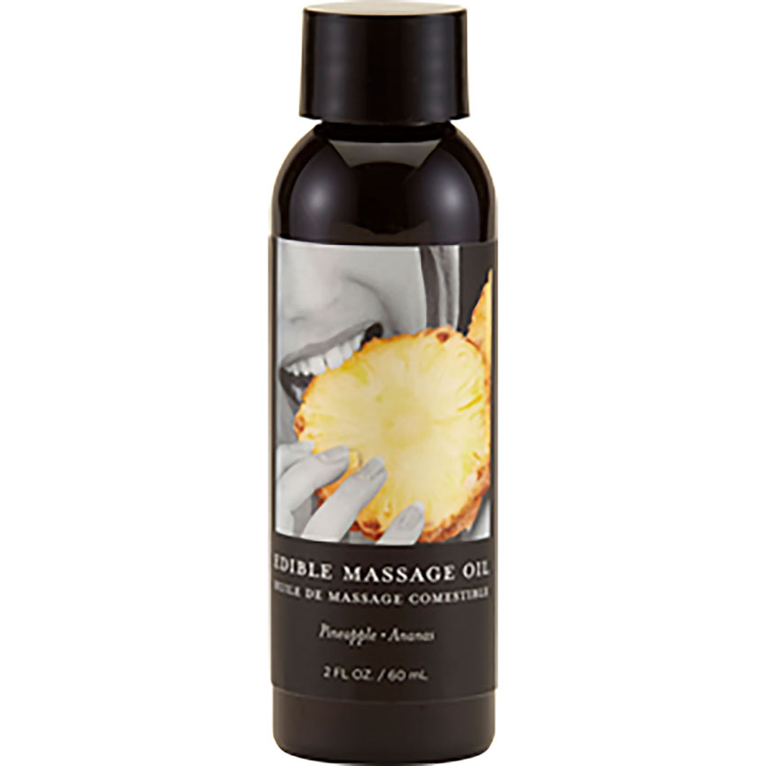 Earthly Body Edible Massage Oil - Pineapple