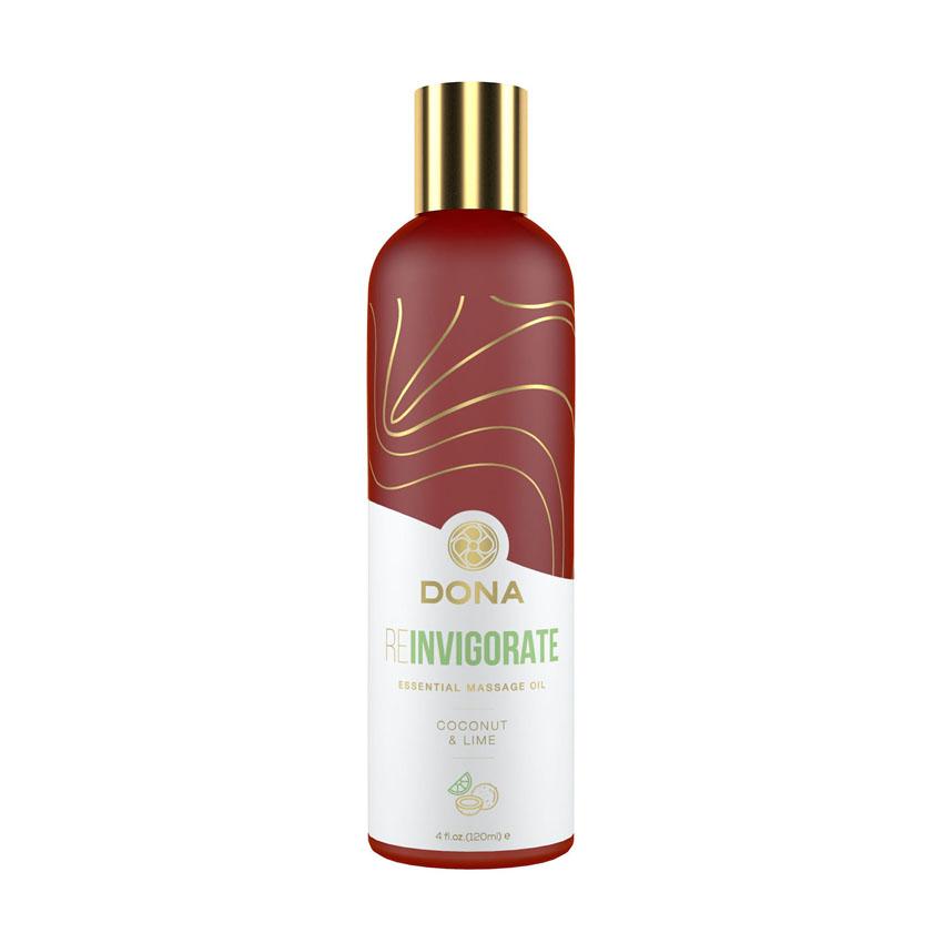 Dona REINVIGORATE Essential Massage Oil (Coconut & Lime)