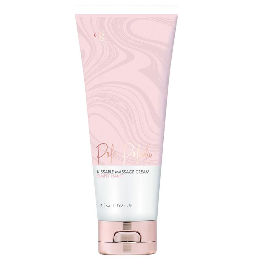 POLE POLISH- Kissable Massage Cream-Naked