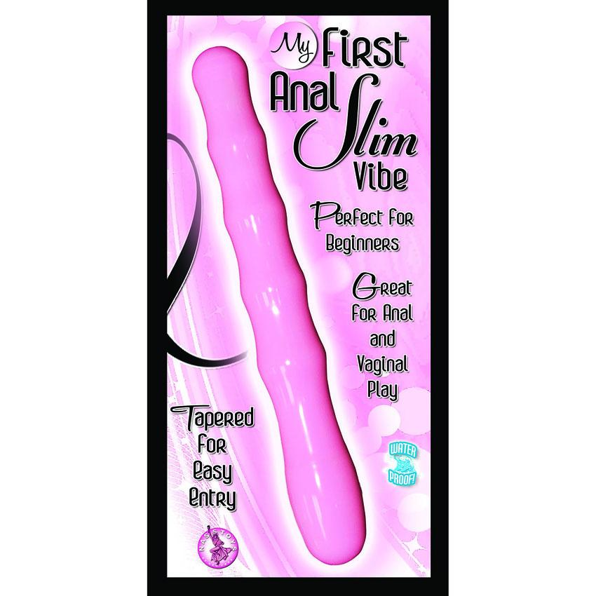 My 1st Anal Slim Vibe