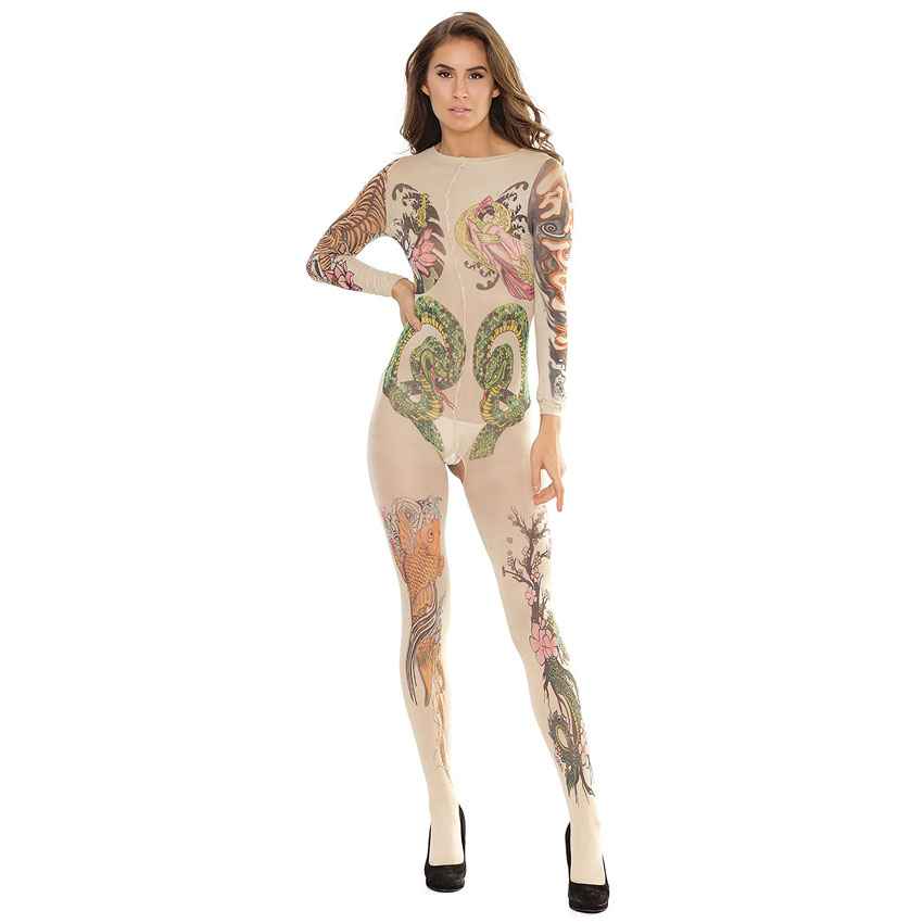 Tattoo Bodystocking