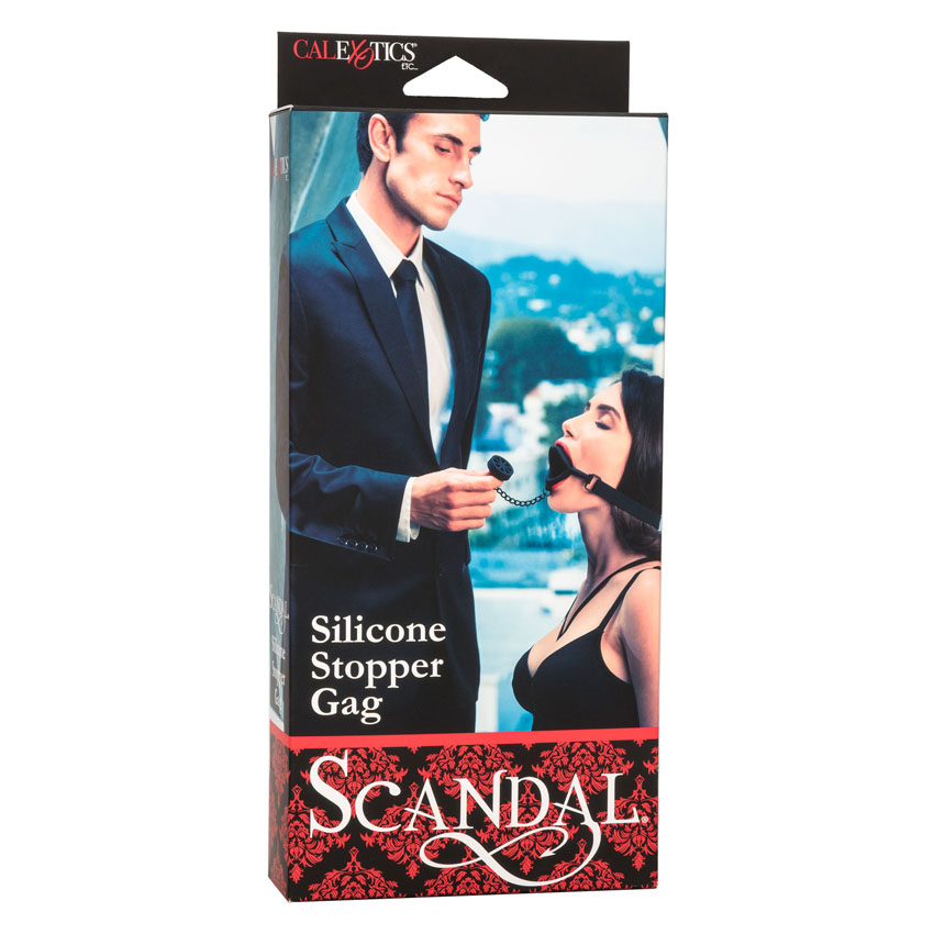 Scandal® Silicone Stopper Gag