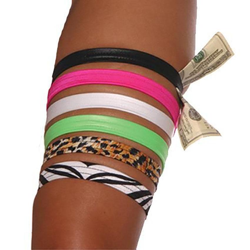 Flat Money Leg Garter