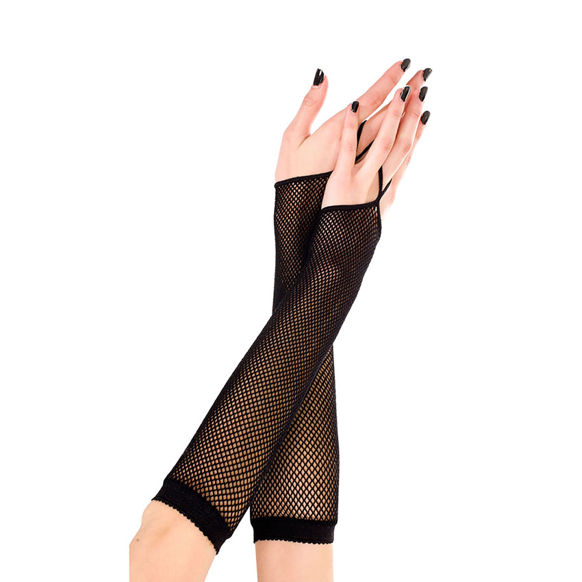 Fishnet Loop Gloves