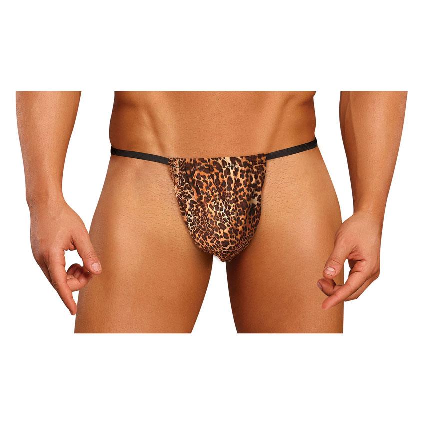 Leopard Posing Strap