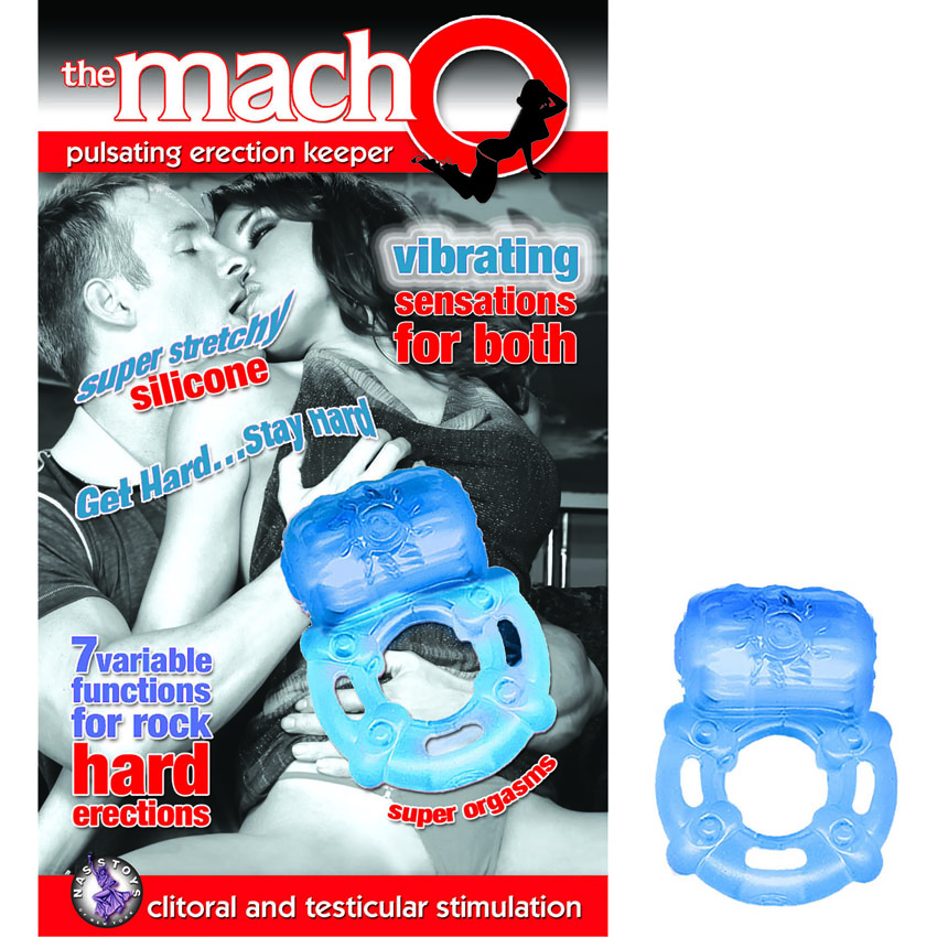 The Macho Pulsating Erection Keeper