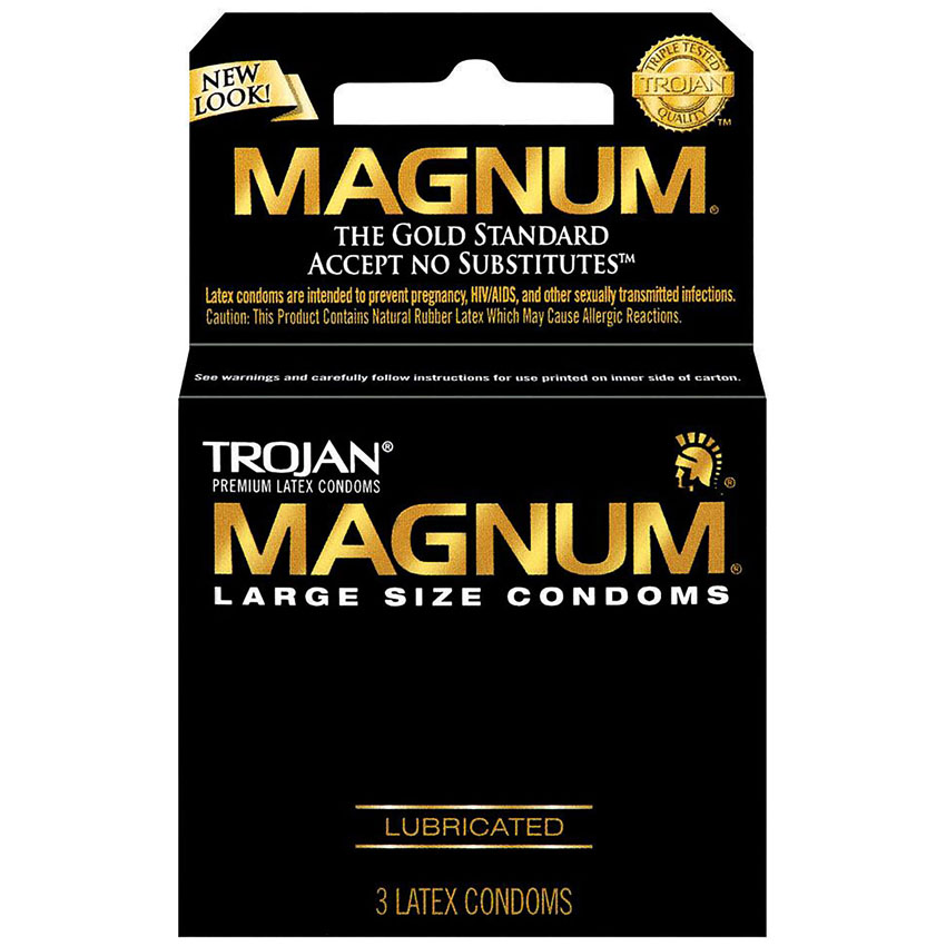 Magnum Large Size Condoms