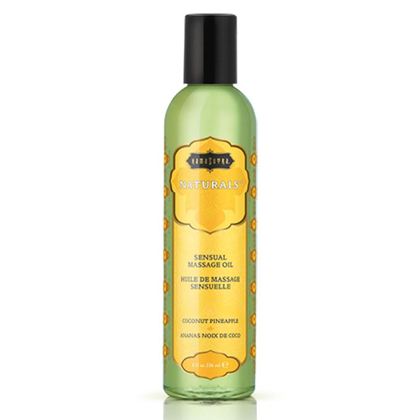 KamaSutra Natural Massage Oil: Coconut Pineapple