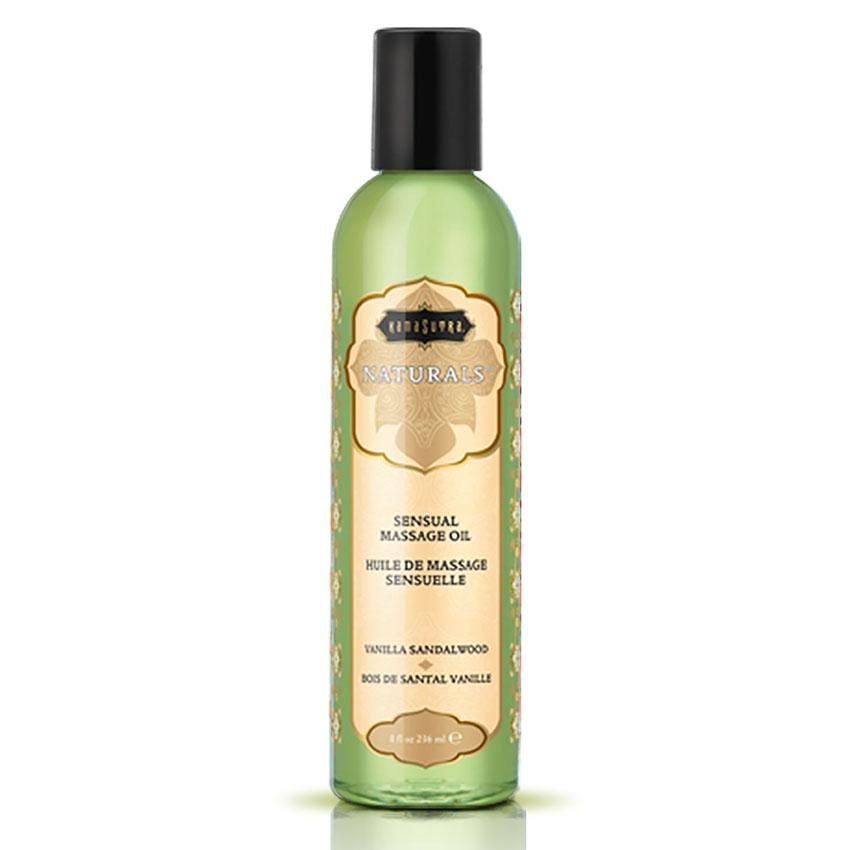 KamaSutra Naturals™ Massage Oil (Vanilla Sandlewood)