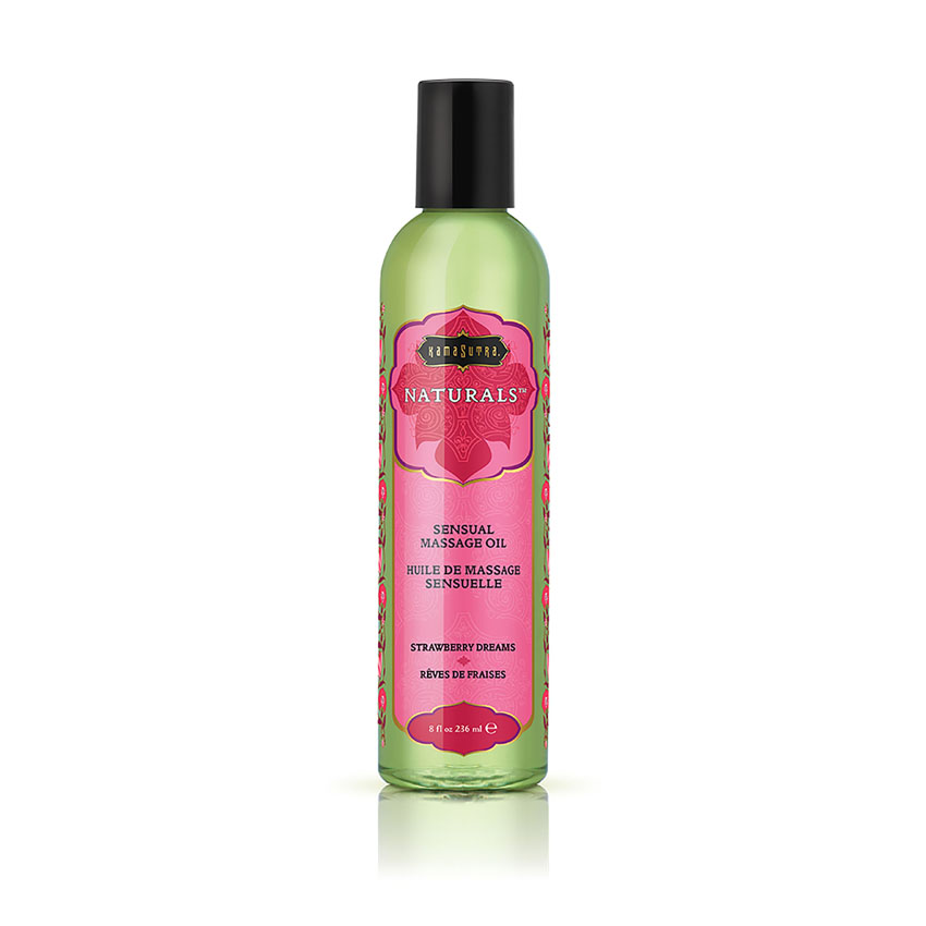 KamaSutra Naturals™ Massage Oil (Strawberry Dreams)