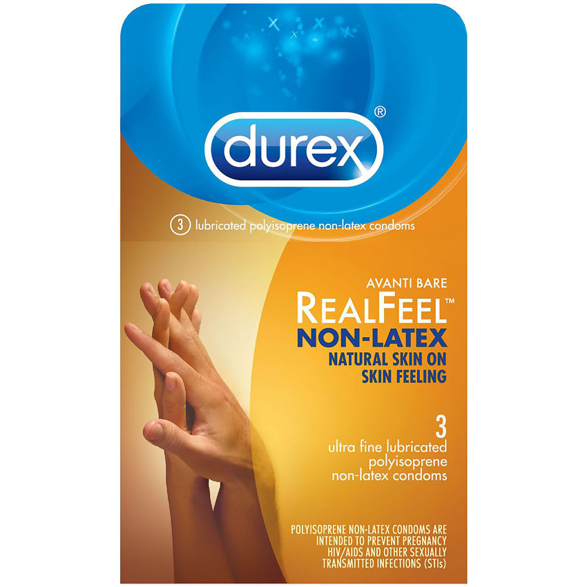 Durex Avanti Bare RealFeel Non-Latex Condoms