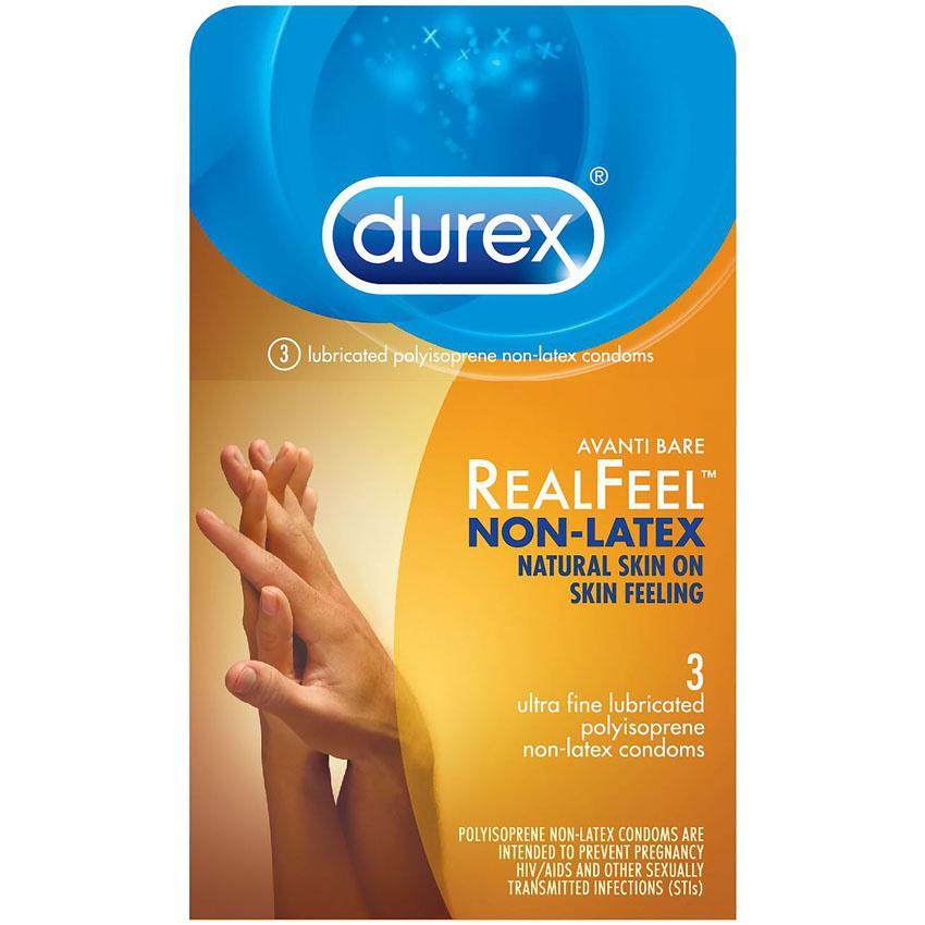 Durex Avanti Bare RealFeel Non-Latex Condoms