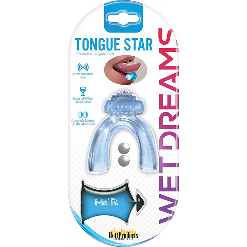 Tongue Star Blue
