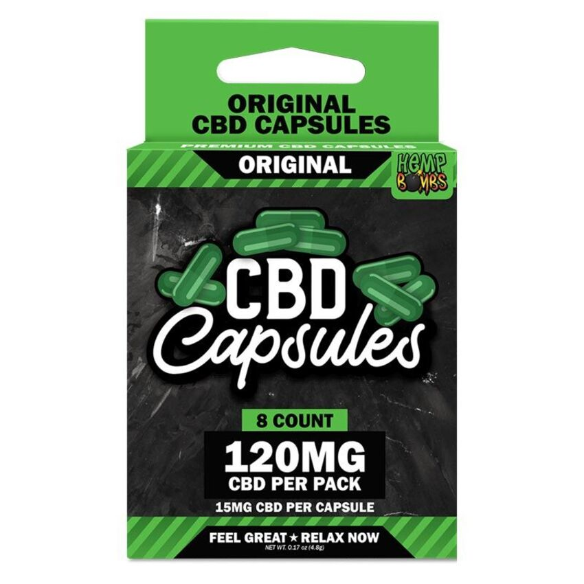 Hemp Bombs - CBD Capsules 5-Count