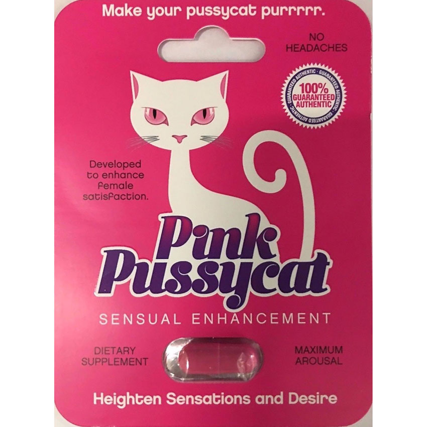 Pink Pussycat Female Enhancement Pill