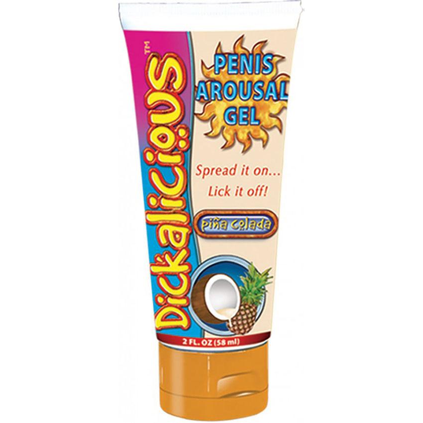 Dickalicious Penis Arousal Cream      Pina Colada