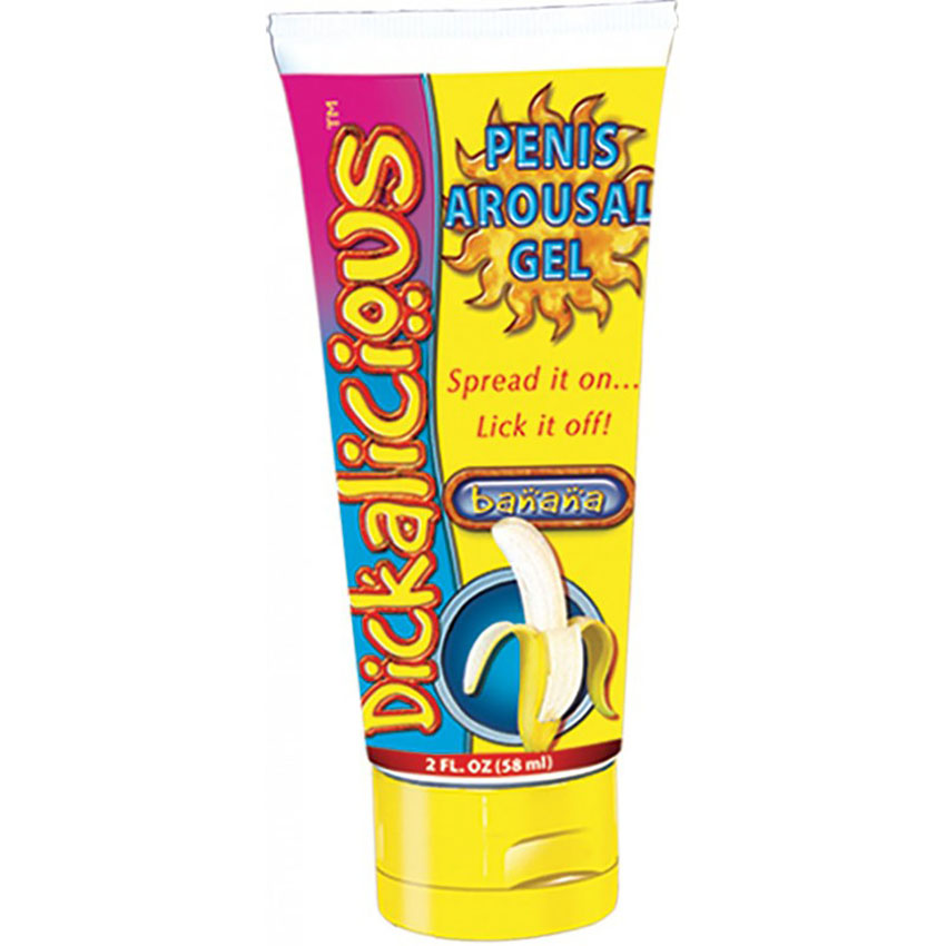 Dickalicious Penis Arousal Cream Banana