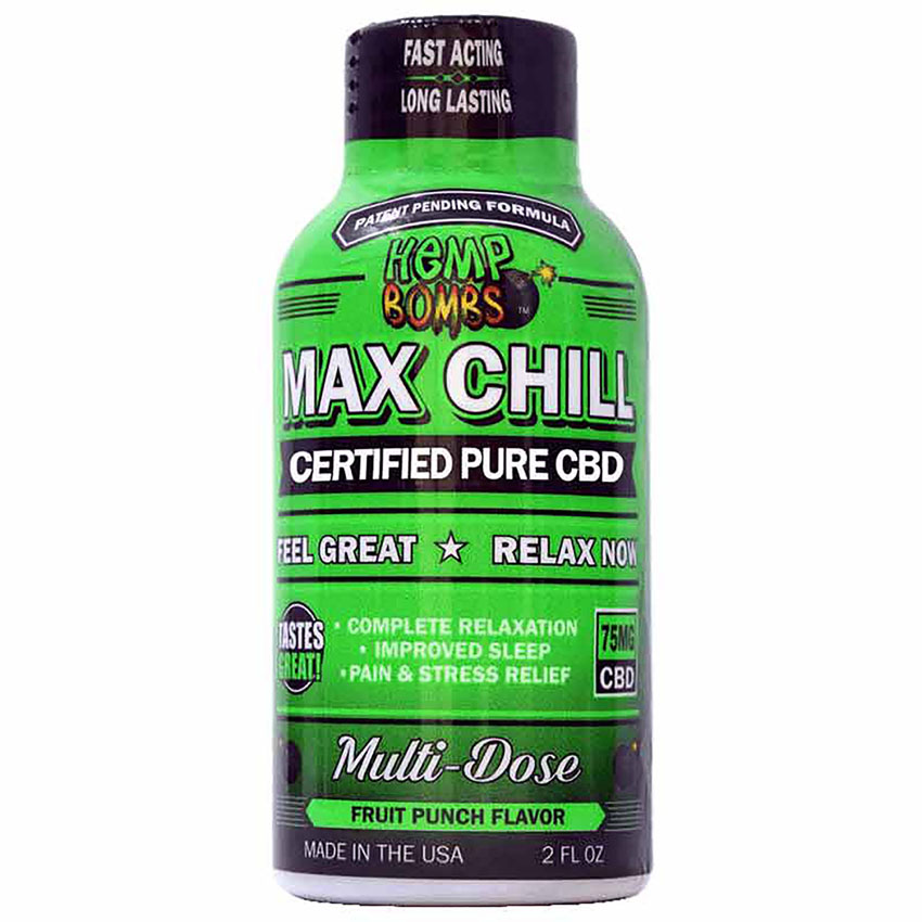 Hemp Bombs Max Chill Shot CBD 75mg