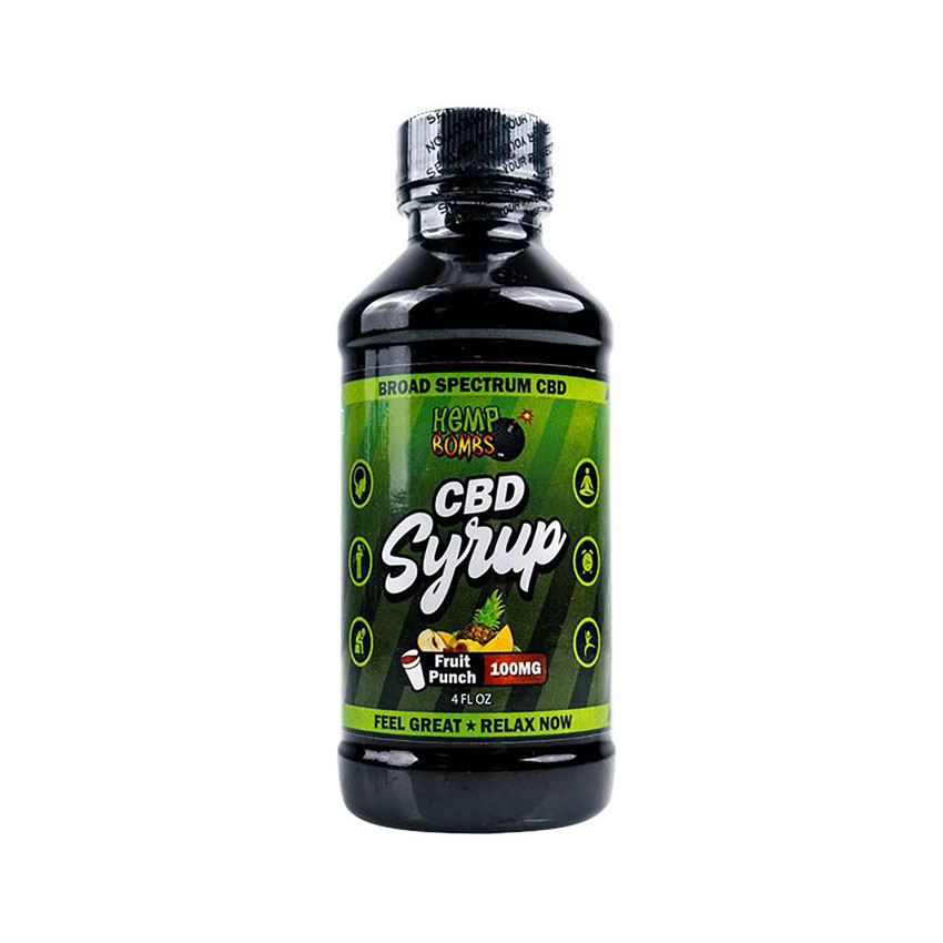 Hemp Bombs Complete Relaxation CBD Syrup