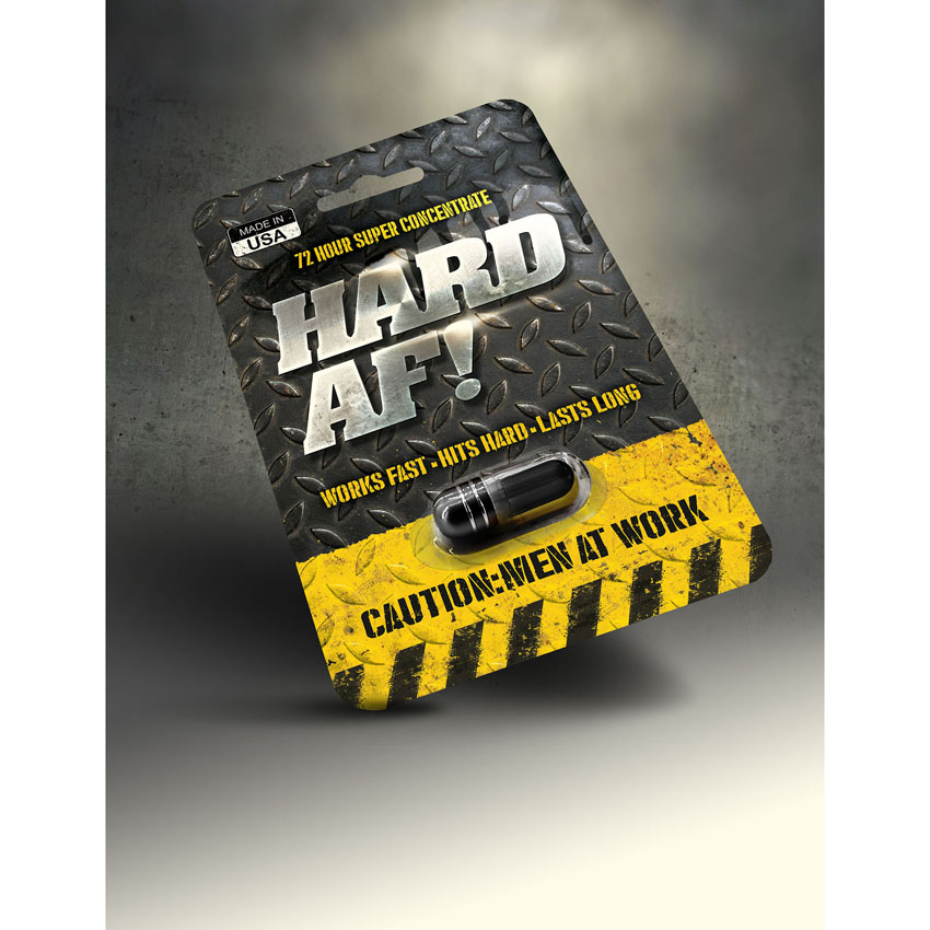 Hard AF! Male Sexual Performance Enhancement Pill