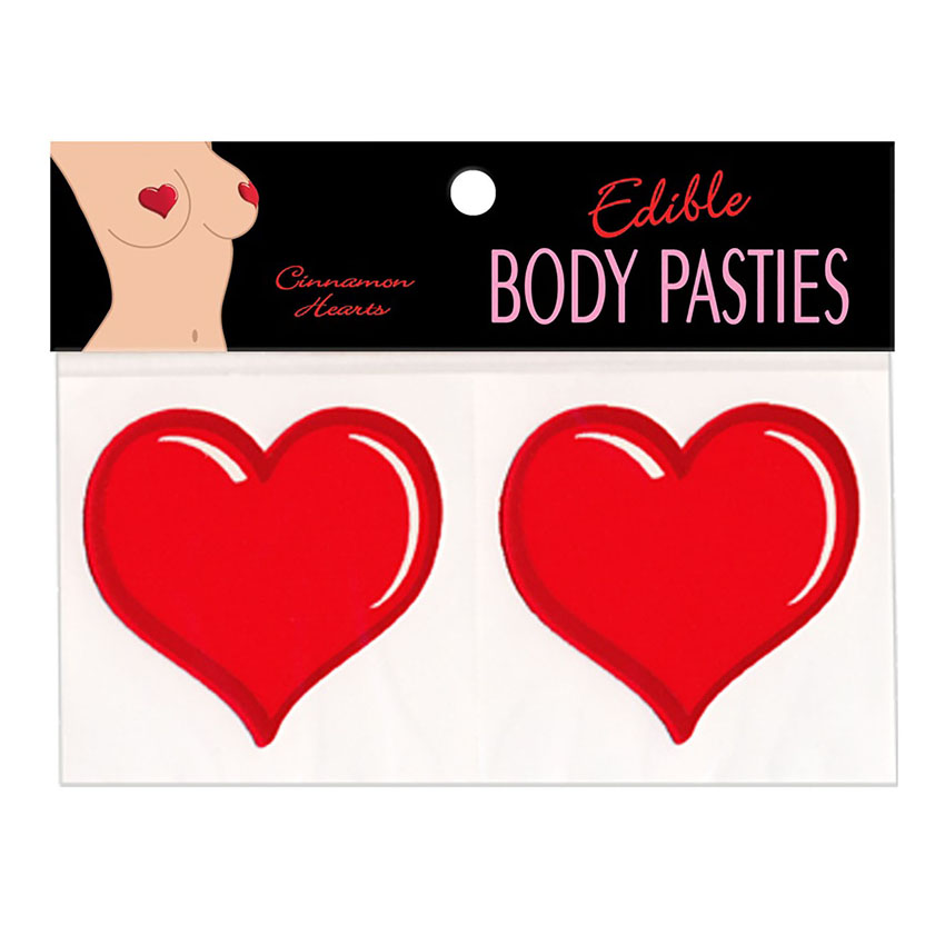 Edible Heart Pasties