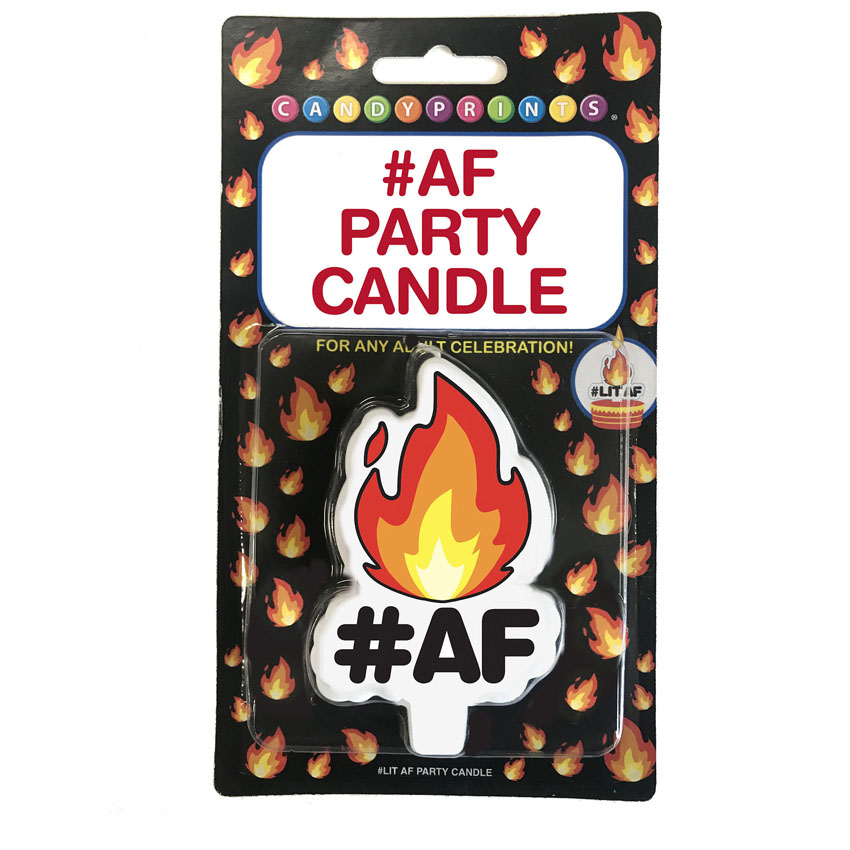 #AF Party Candle