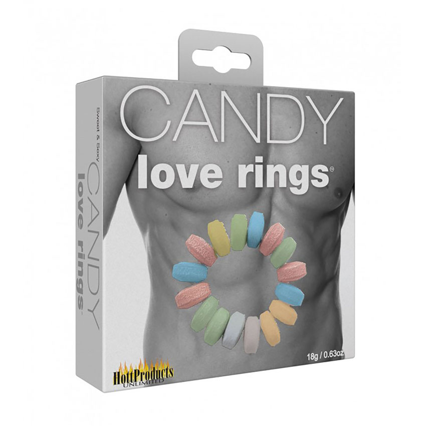 Sweet & Sexy Candy Love Cock Rings