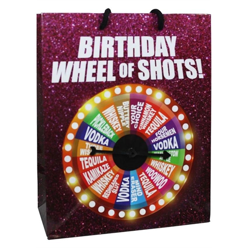 Wheel of Shots Bag
