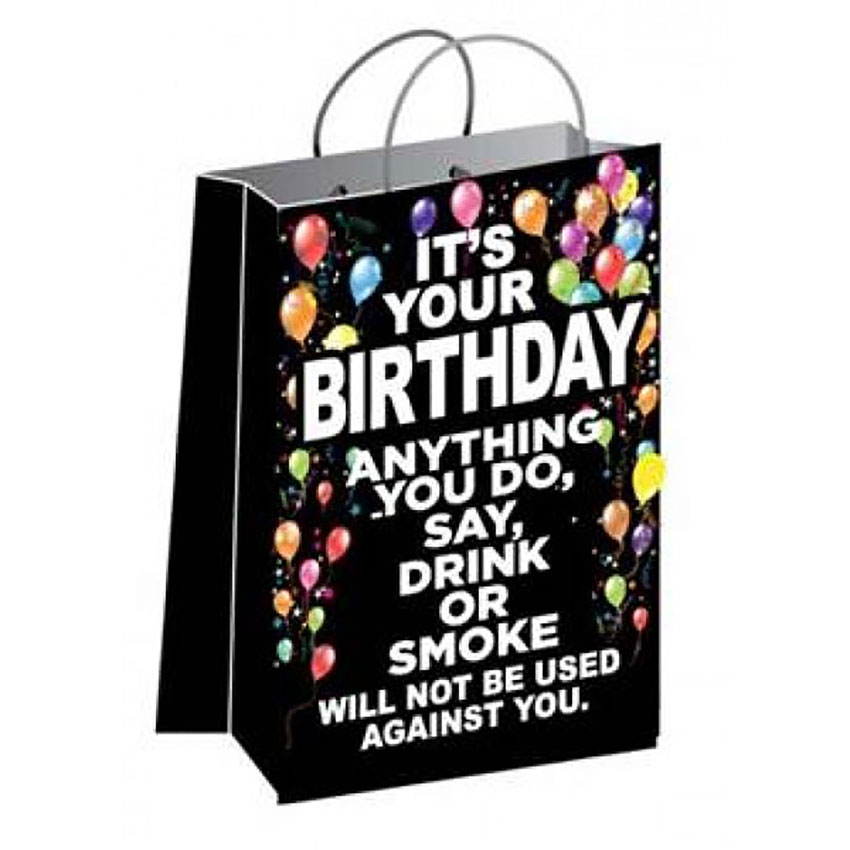 Its Your Birthday Gift Bag