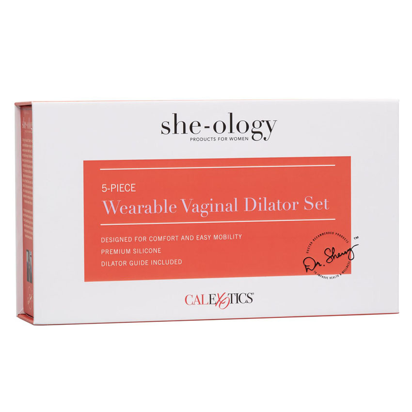 5 Piece Wearable Vaginal Dilator Set