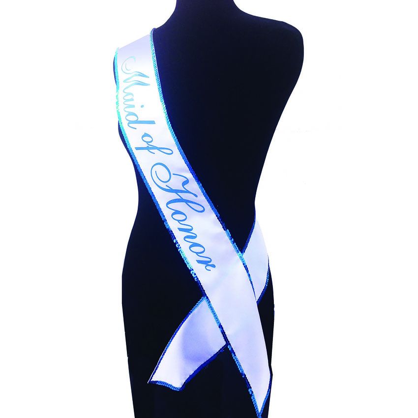 Maid of Honor Party Sash